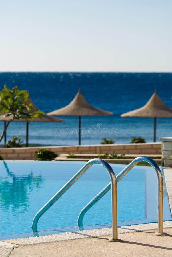 Download Swimming pool and ocean stock photo. Image of sharm, aqua - 4545984