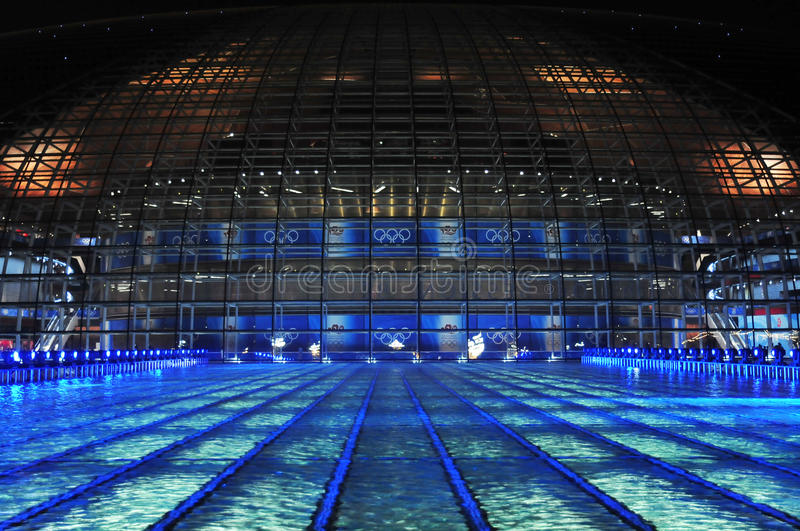 Download Swimming Pool Of Olympic Game Editorial Photography - Image: 10512922