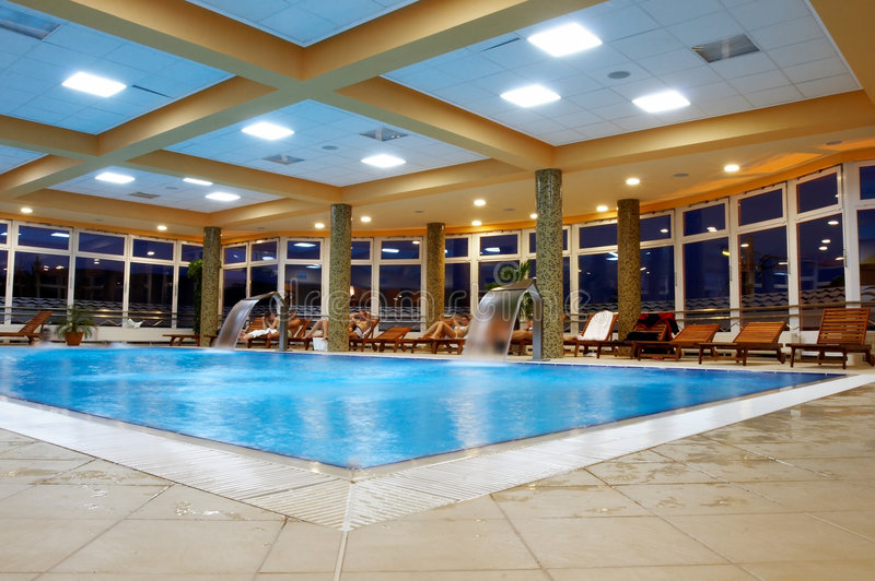 Download Swimming Pool - Relaxation Are Stock Image - Image: 2376417