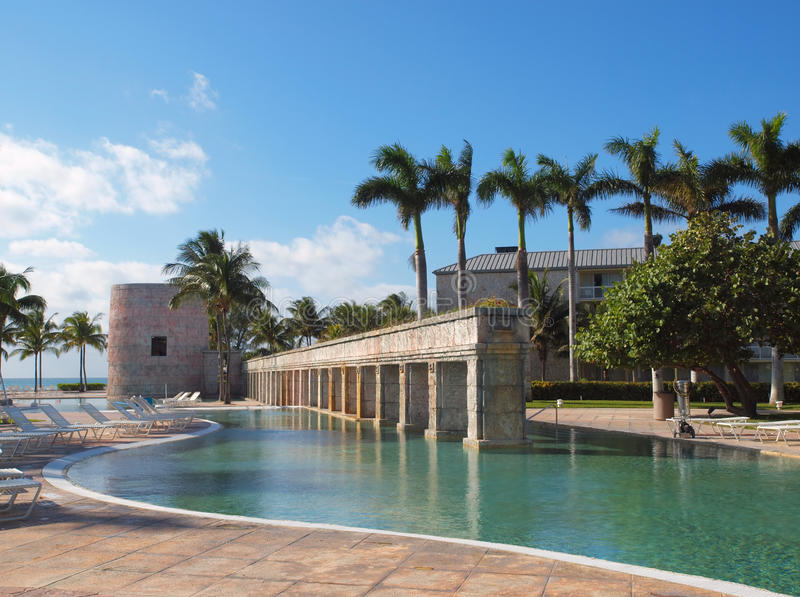 Download Swimming pool in a resort stock photo. Image of water - 12685764