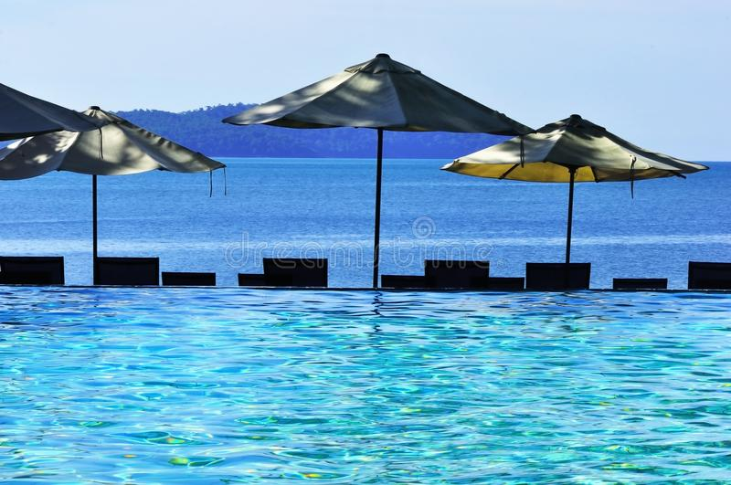 Download Swimming pool and sea stock image. Image of abstract - 28312001