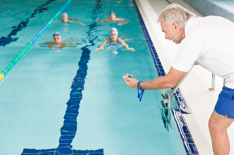 Swimming Pool Swimmer Training Competition Royalty Free Stock Images Image 16604289