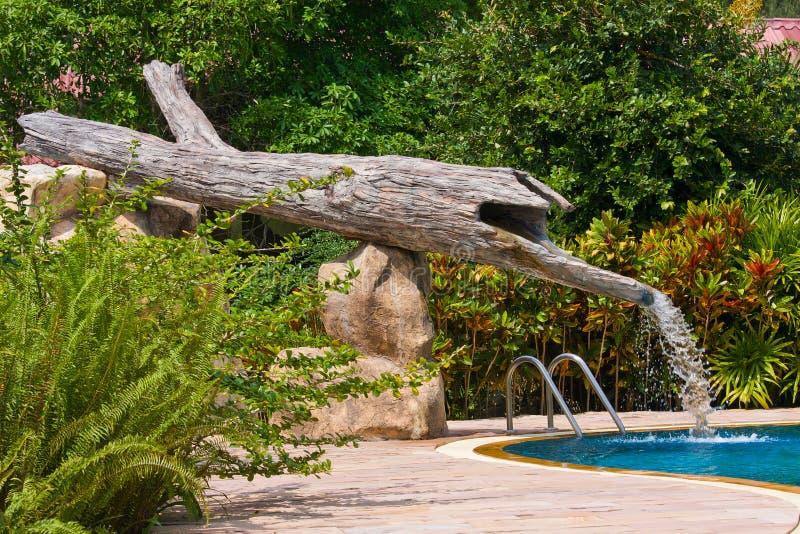 Swimming Pool, Thailand. Stock Photos