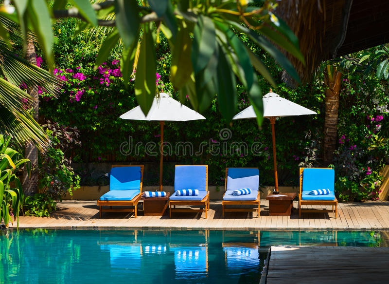 Download Swimming Pool In Tropical Resort Stock Photo - Image: 29080006