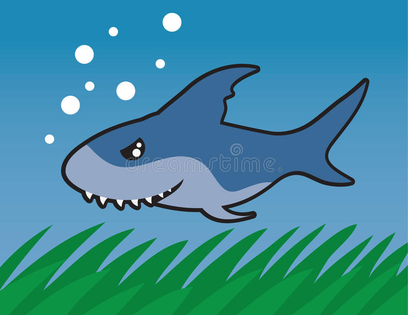 Download Swimming Shark Royalty Free Stock Photo - Image: 22432065