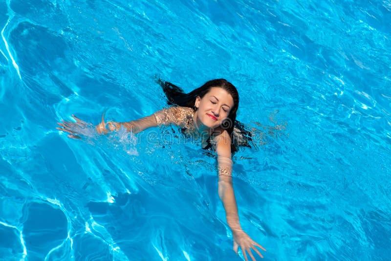 Download Swimming woman stock photo. Image of swimming, joyful - 31064736
