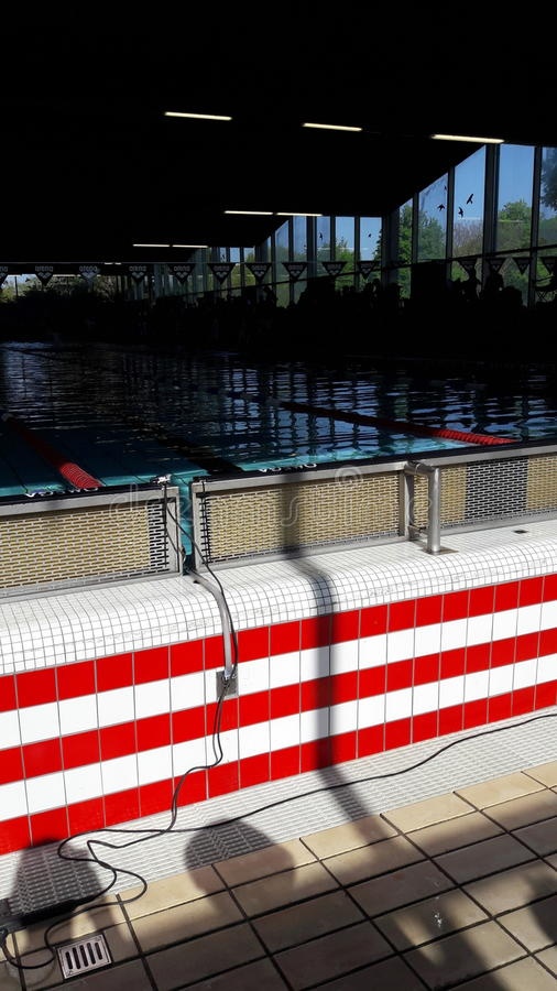 swimmingpool royaltyfria bilder