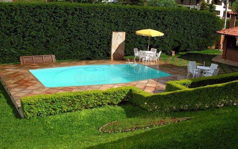 swimmingpool zdjęcia royalty free