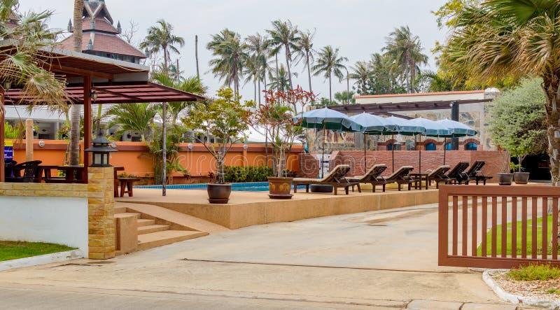 Download Swimmingpool Und Badekurortgebiet Tropische Feiertage Stockfoto - Bild von oasis, mauritius: 96932746
