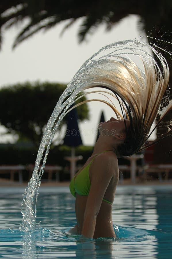 Download Swimsuit Model stock image. Image of splashing, swimsuit - 937735