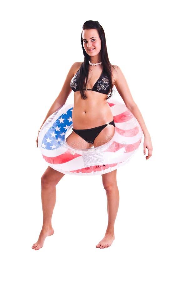 Download Swimwear kobieta zdjęcie stock. Obraz złożonej z joyce - 13340390
