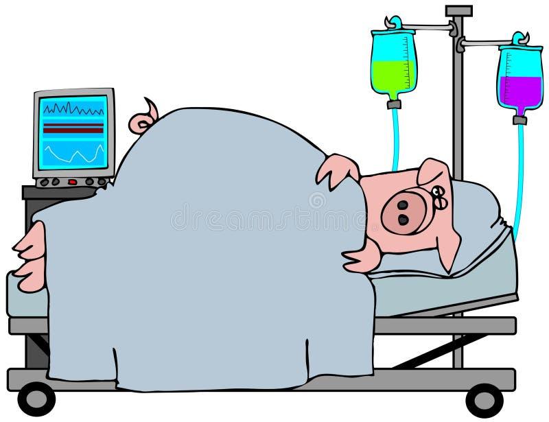 Swine Flu stock illustration