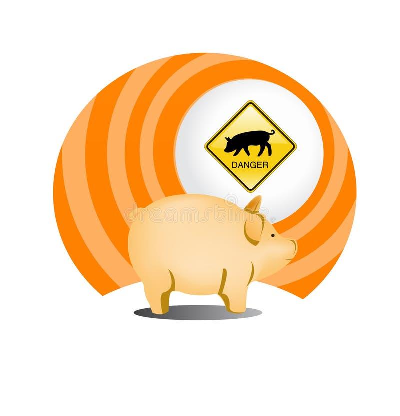 Swine Flu Icon Stock Photos