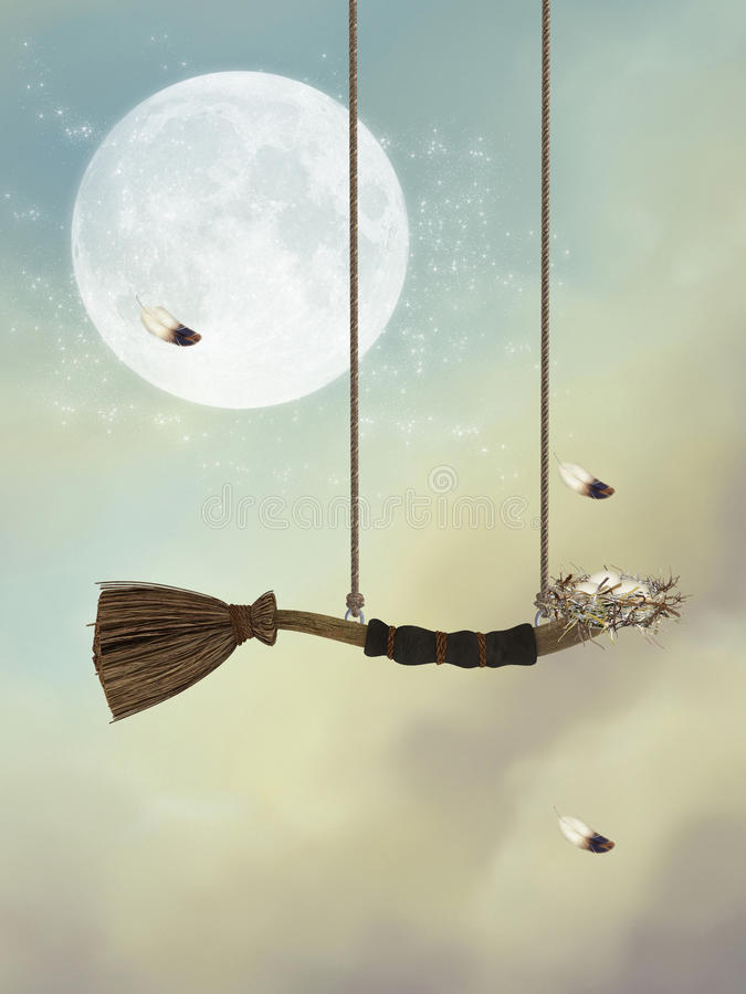 swing vektor illustrationer