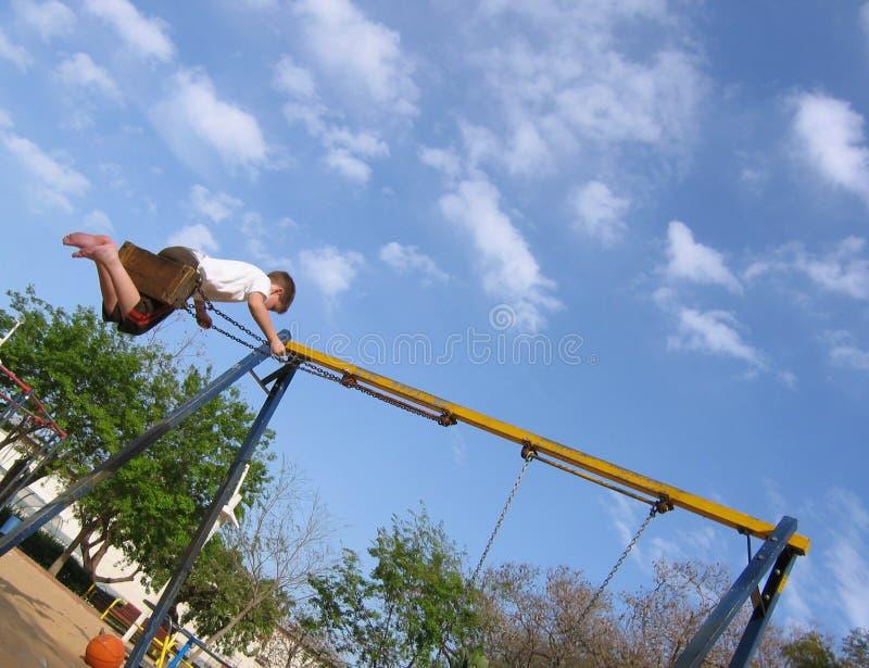 Download Swing fotografering för bildbyråer. Bild av spelrum, gyckel - 245535