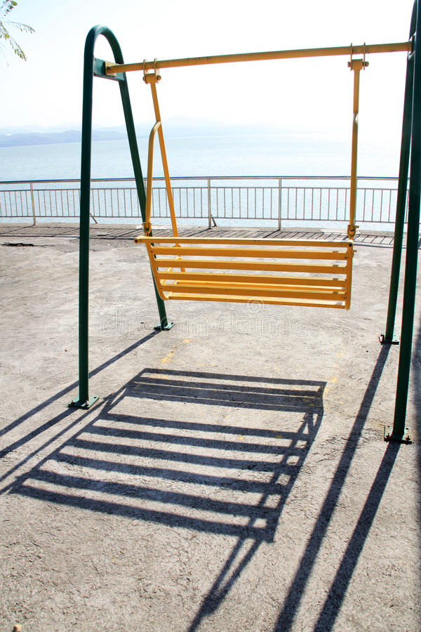 Download Swing stock photo. Image of lake, play, ground, colorful - 27548670