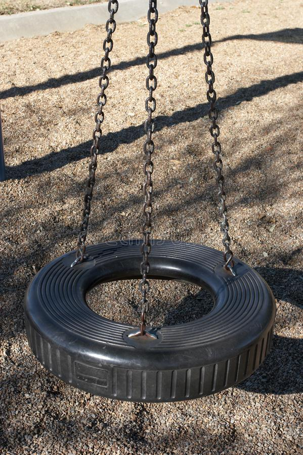 Download Swing stock image. Image of soar, outdoors, tire, chain - 423261