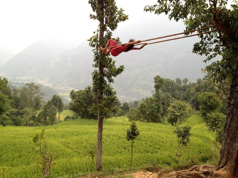 swing royaltyfri foto