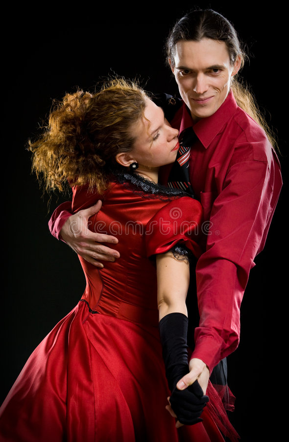 Swing dancers royalty free stock images