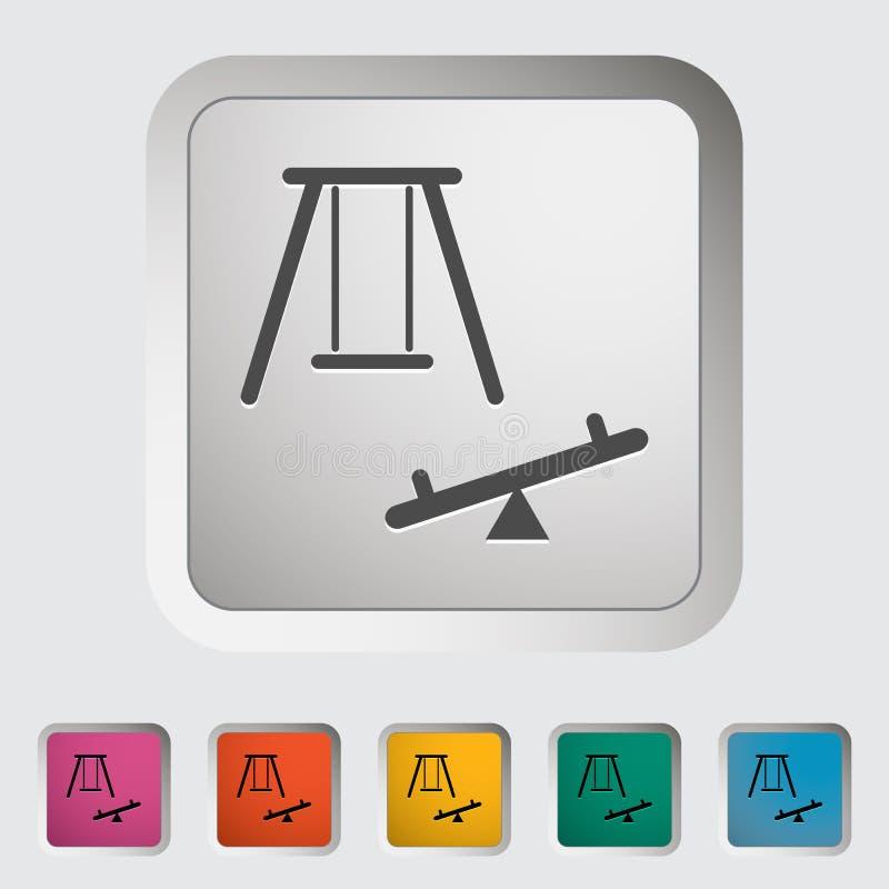 swing Enkel symbol vektor illustrationer