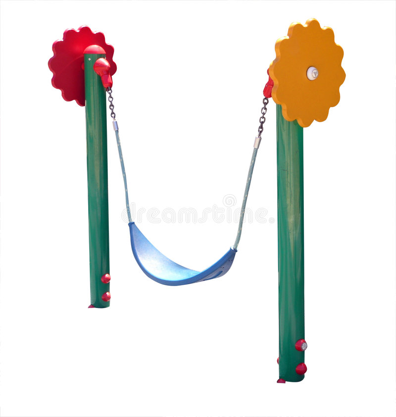 swing för barnkrimskrams s arkivbild