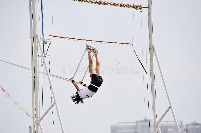 swing för lekmeetsportar arkivfoton