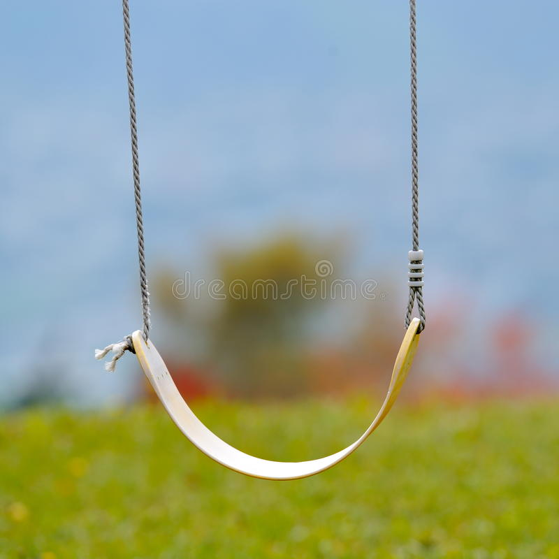 Download Swing outdoor in the park stock photo. Image of childhood - 21533842