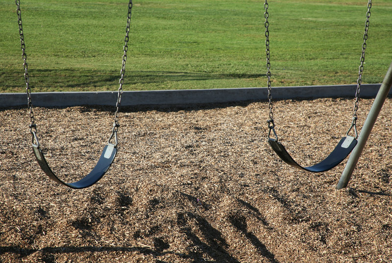 Swing seats royalty free stock images