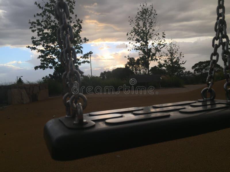swing royaltyfria bilder