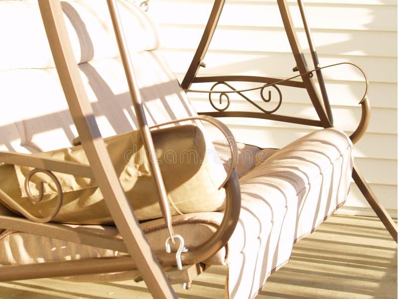 swing werandę zdjęcie royalty free