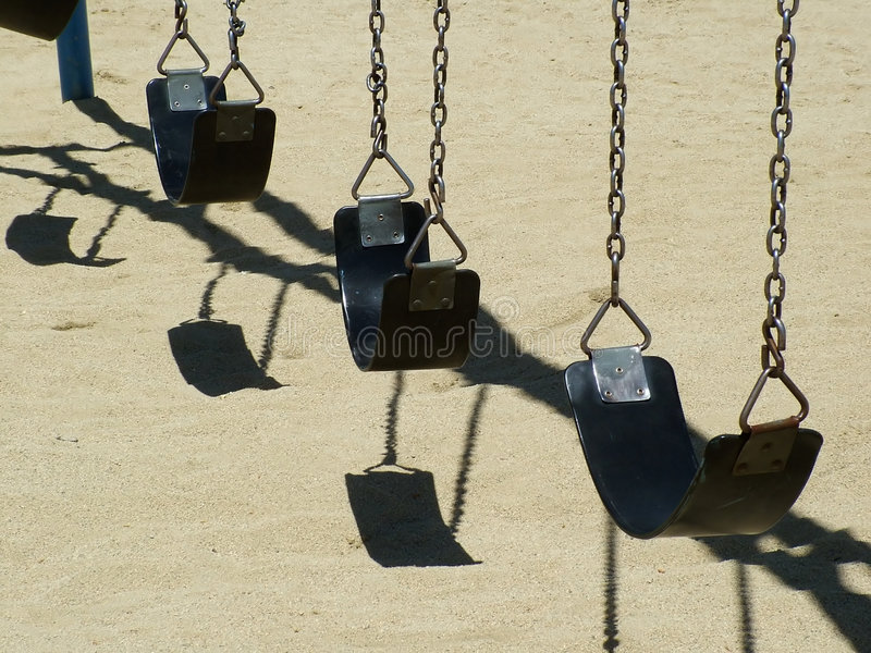 Download Swinging stock photo. Image of park, waiting, swinging - 104708
