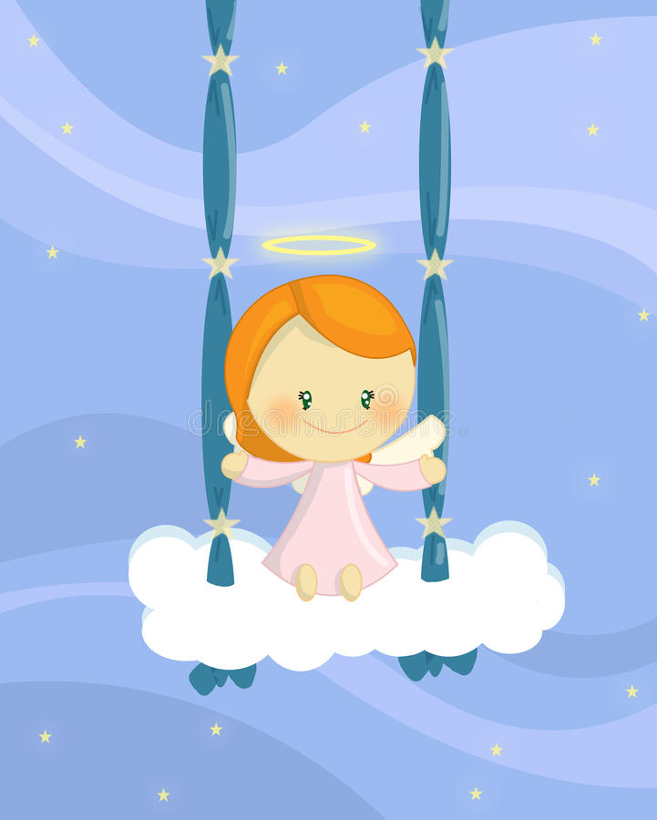 Download Swinging Angel Girl Stock Images - Image: 15435424