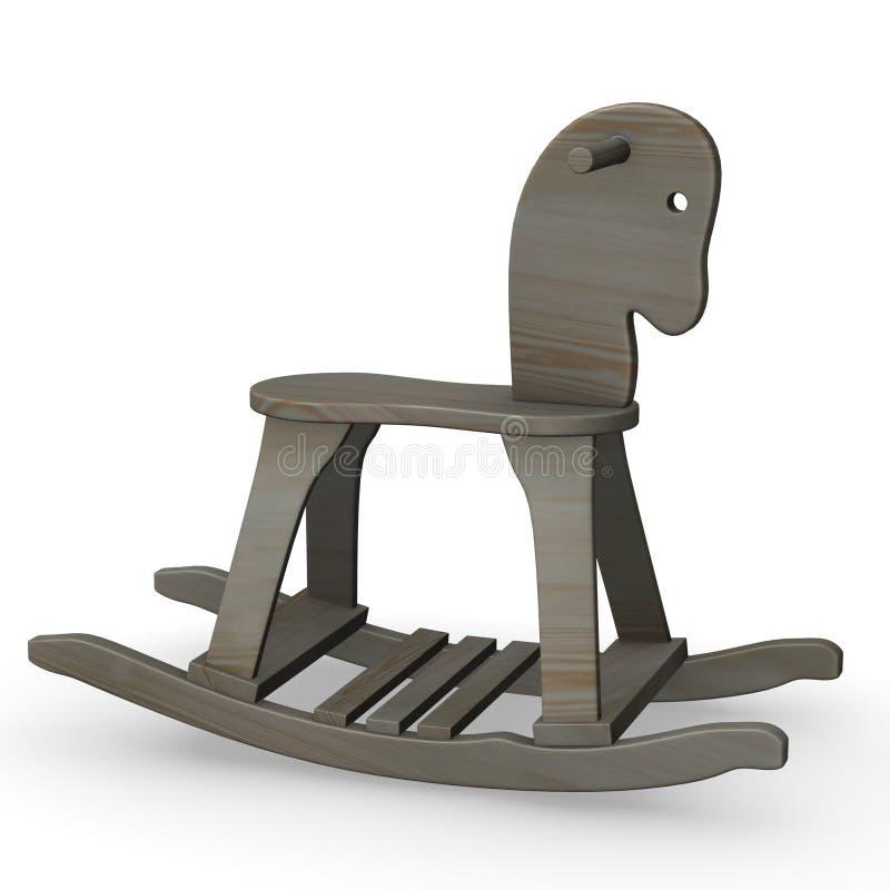 Download Swinging horse stock illustration. Illustration of animal - 12870520