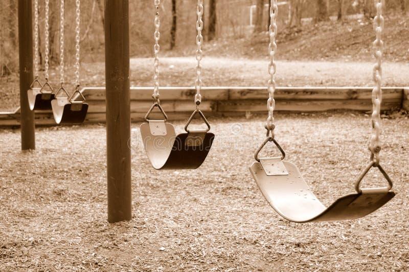 swings arkivbild