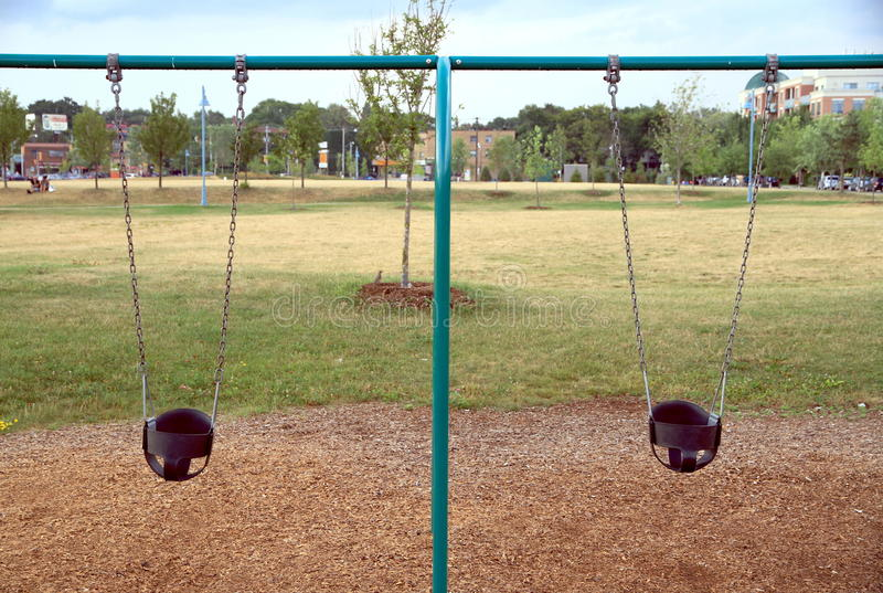 Download Swings stock photo. Image of sunny, recreation, leisure - 26285768