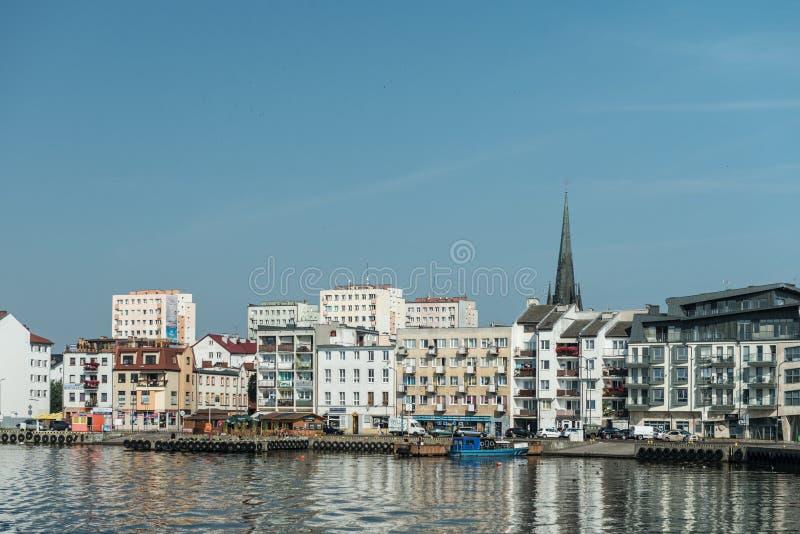 Swinoujscie - View From Port Editorial Stock Photo