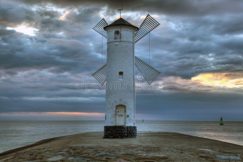 Swinoujscie w Polska jest jeden piękni miasteczka na morzu bałtyckim zdjęcie royalty free