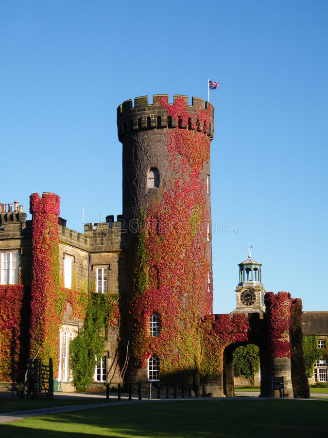Swinton Castle royalty-vrije stock foto