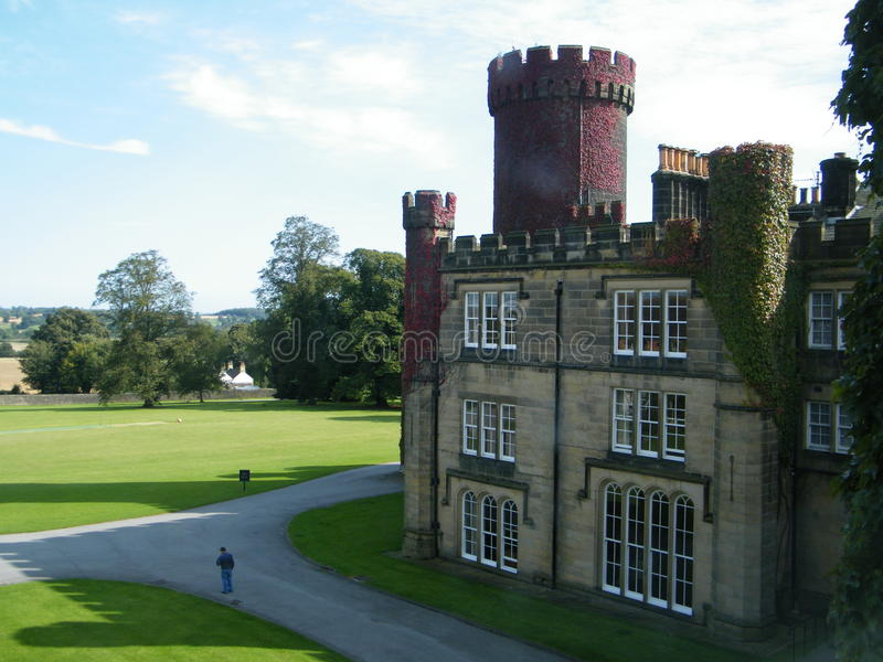 Swinton Castle stock foto