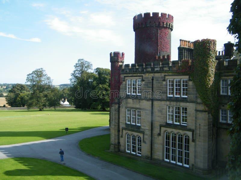 Swinton Castle stock photo