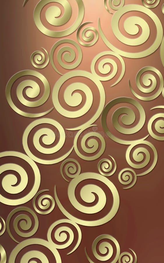 Swirl background royalty free stock photography