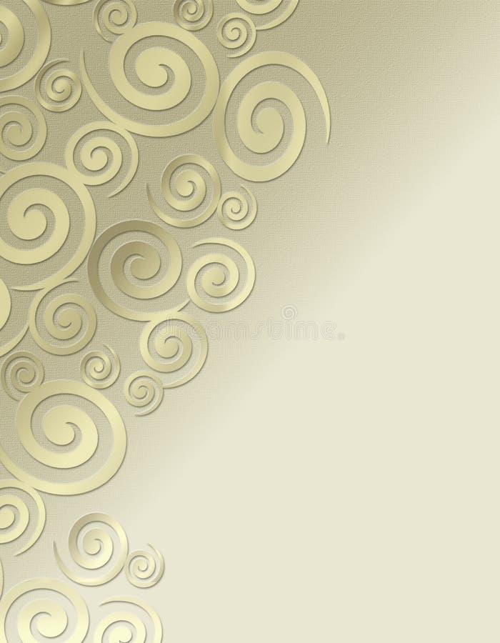 Swirl background royalty free stock photos