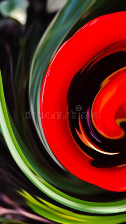 Abstract swirls 005 stock images