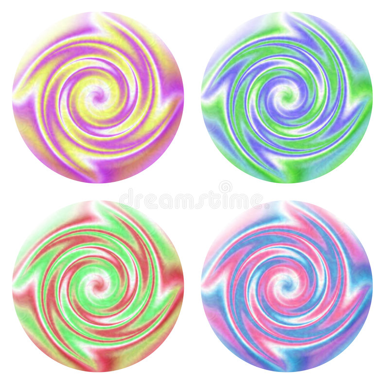Download Swirl Buttons Royalty Free Stock Photos - Image: 219088