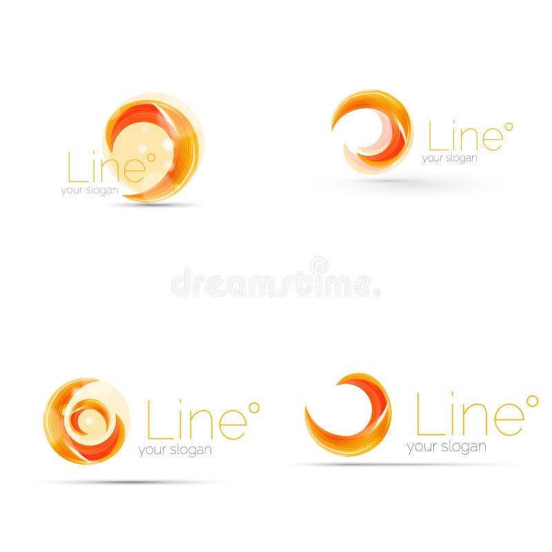 Swirl company logo design stock vector. Illustration of curve ...