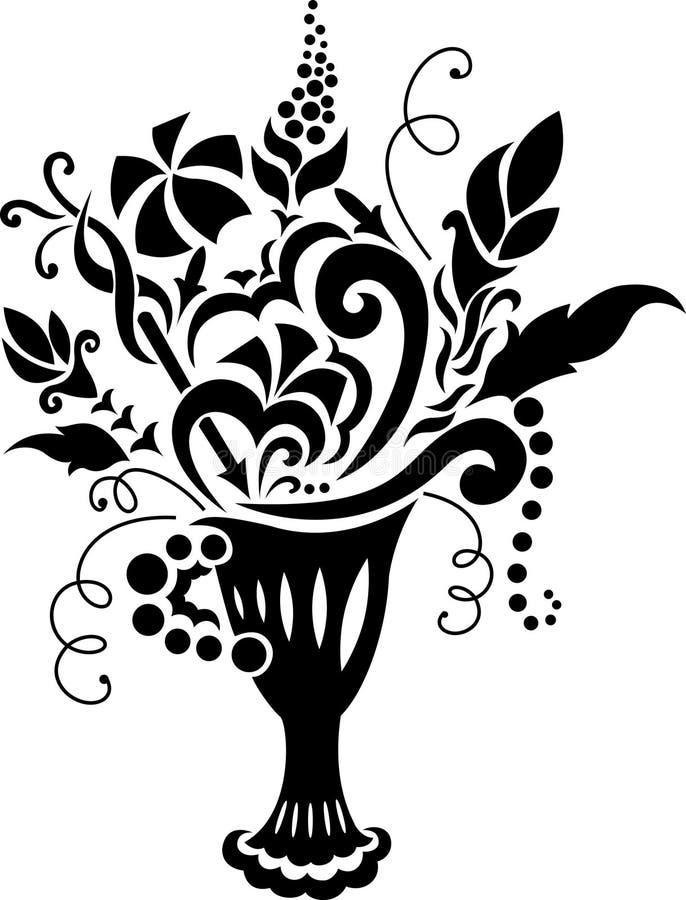 Swirl Design Ornament Elements Stock Photo