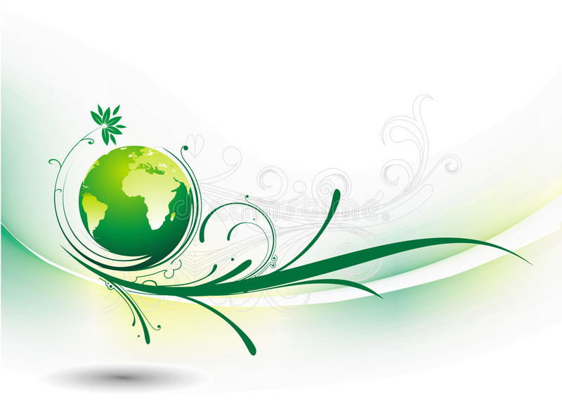 Swirl Globe Stock Images