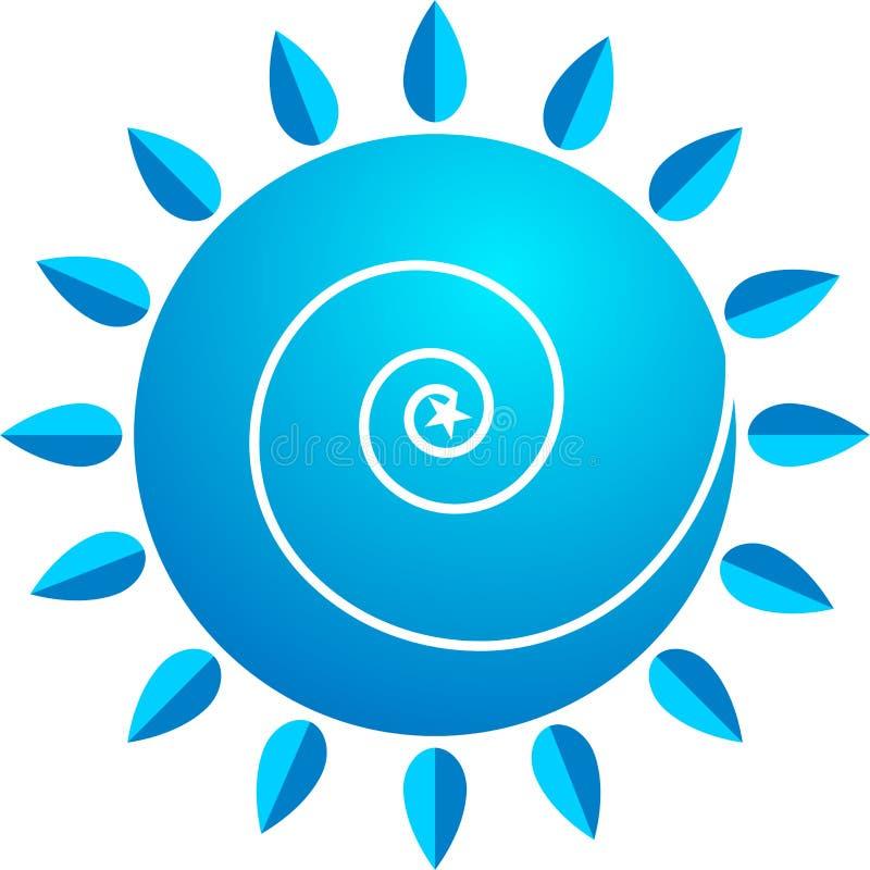 Download Swirl Logo Stock Image - Image: 21956881