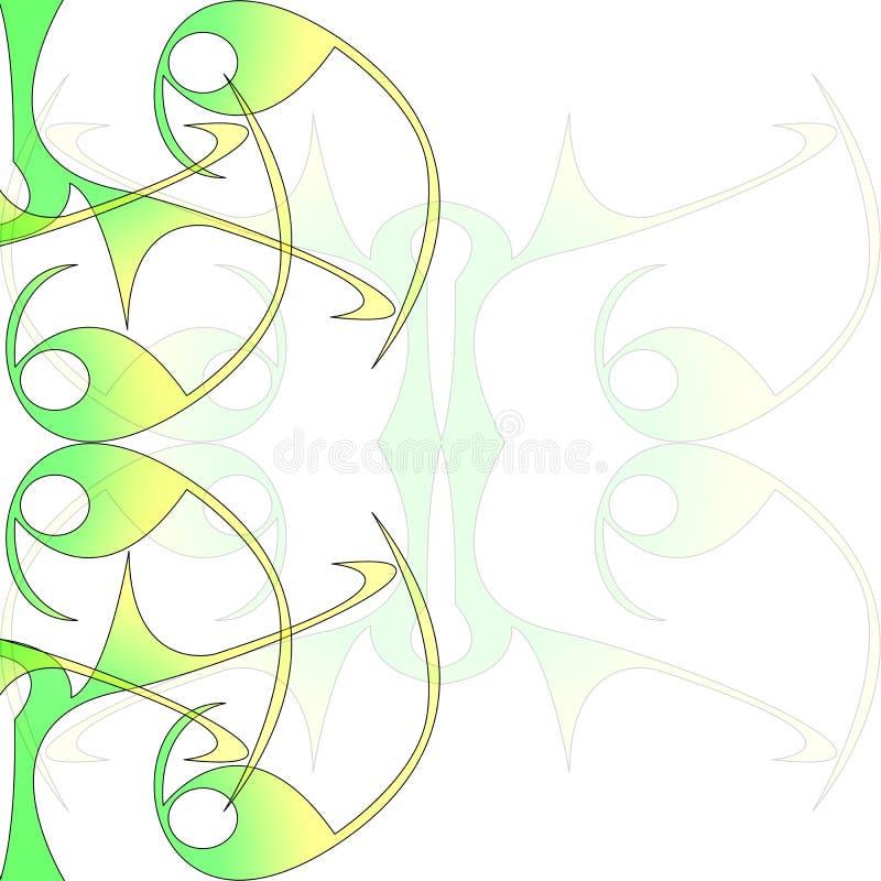 Swirl swish illustration