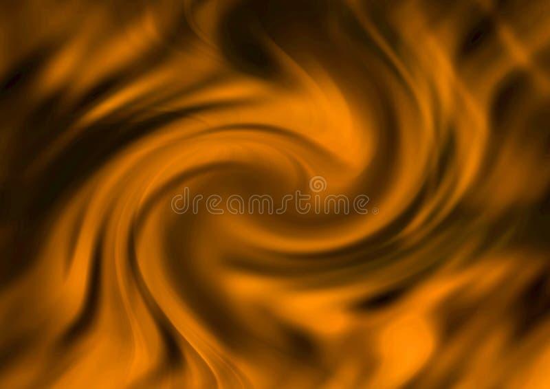 Swirl texture stock illustration